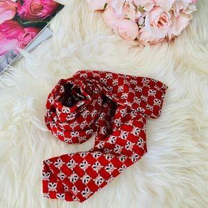 animal raccoon print scarf